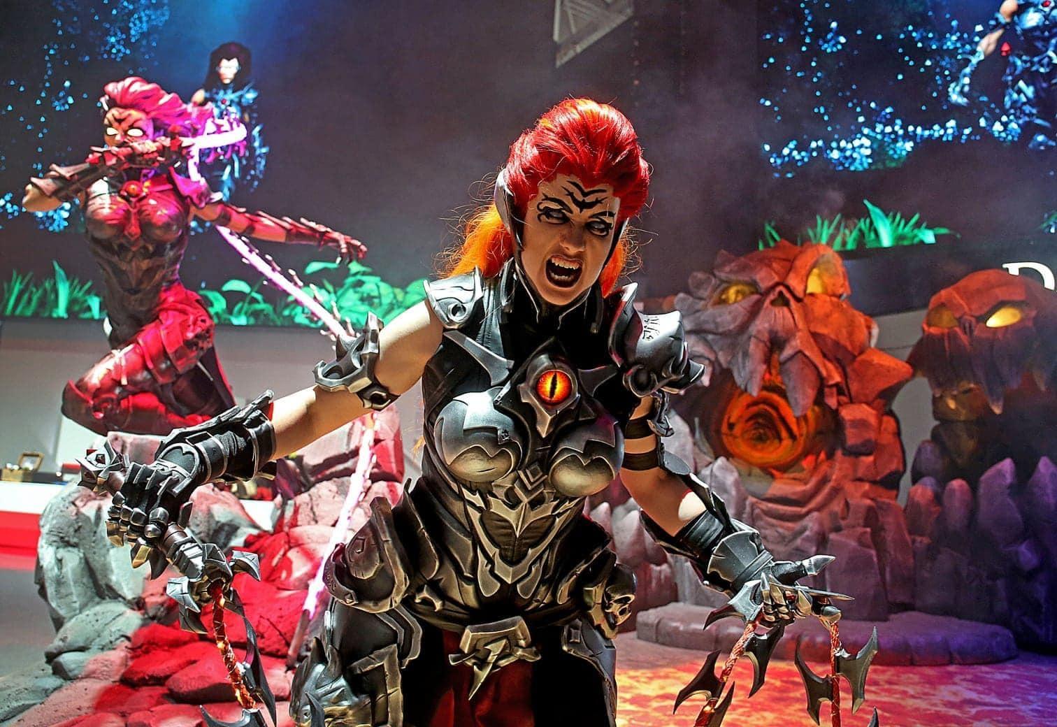 """<p>Vom 22. bis zum 25. August lockt die Gamescom wieder nach Köln. Hier seht ihr eine Figur aus dem Spiel """"Darksiders"""""""