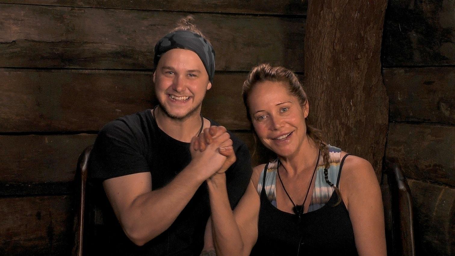 """<p>Doreen und Felix müssen gemeinsam antreten und dürfen in den """"Zircus Felido"""" (steht für Felix und Doreen).</p> Foto: TV Now / Stefan Menne"""