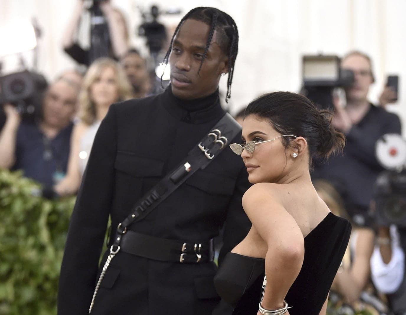 <p>Kylie Jenner und Travis Scott</p> Foto: dpa/afp