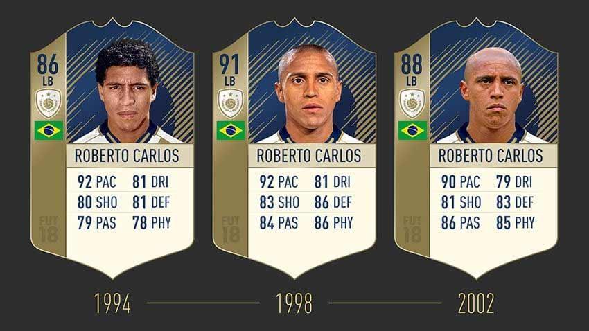 FIFA 19 Icon Roberto Carlos