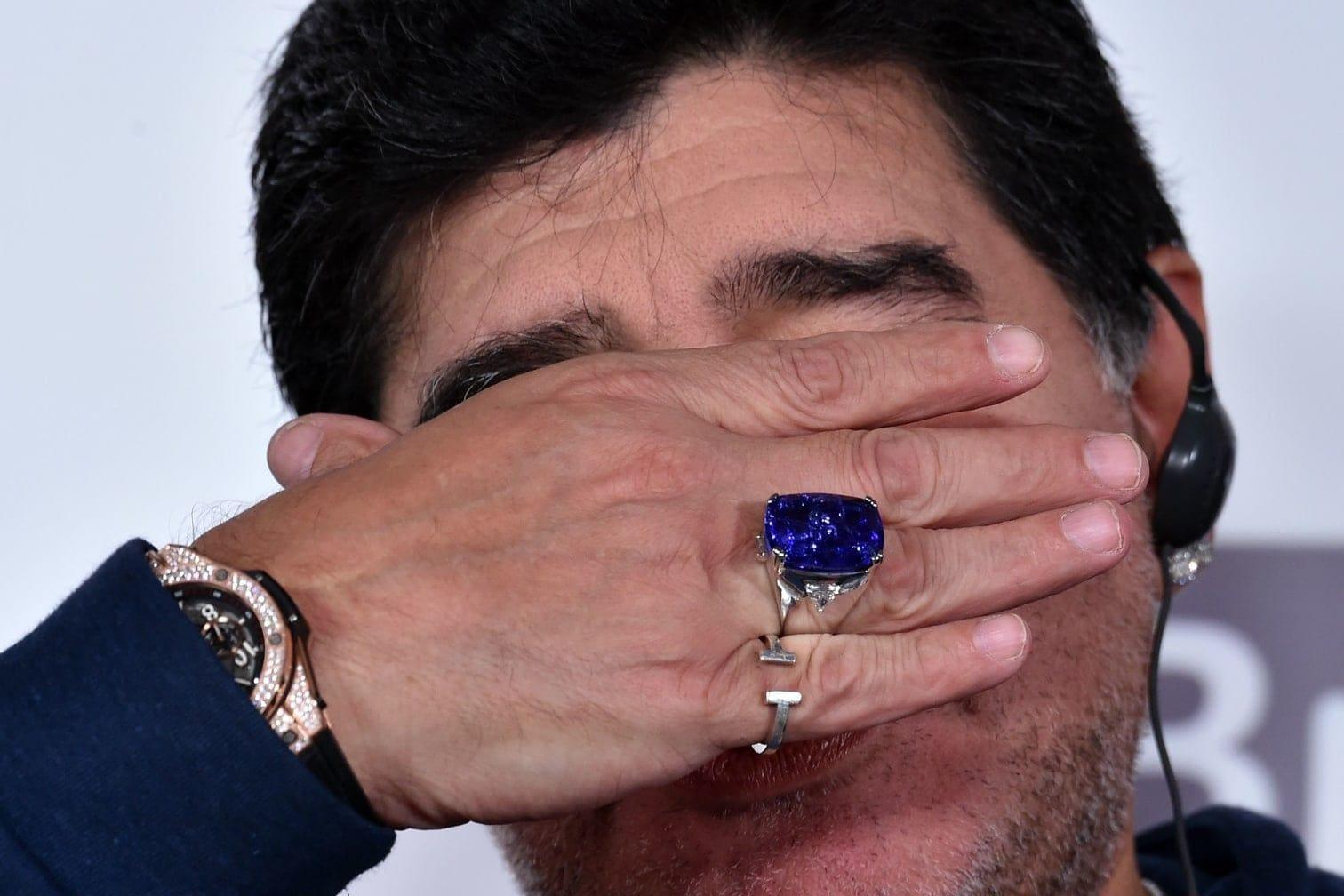 was! Stimmungsschwankungen gehören beim Argentinier zum Programm.</p> Foto: AFP