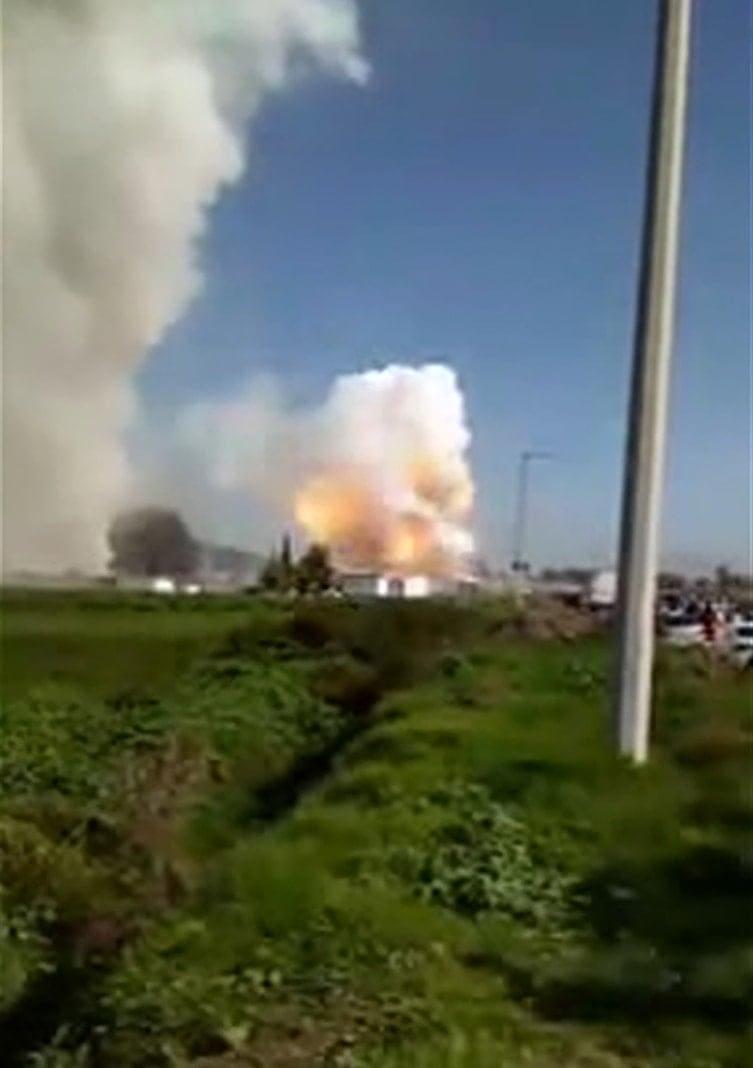 <p>Laut Angaben der Einsatzkräfte ereignete sich die erste Explosion am Morgen. Als die Helfer am Unglücksort im Stadtteil La Saucera eintrafen