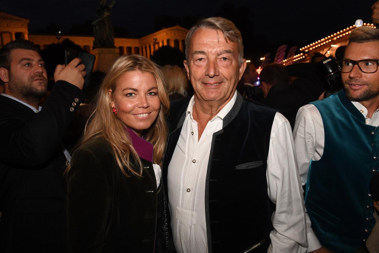 <p>Hier feiert Sänger Florian Silbereisen im Schottenhamel-Festzelt.</p> Foto: dpa