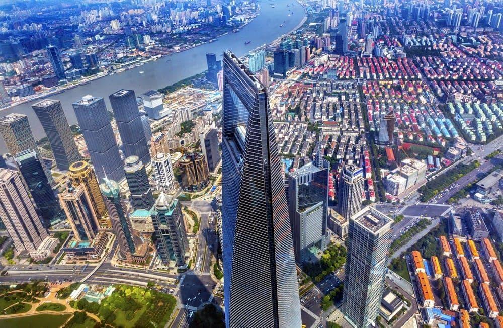 <p><strong>Platz 9-6</strong>: Auch im China World Trade Center in Peking geht's per Aufzug mit 10 Metern pro Sekunde in die Höhe.</p> Foto: TonyV3112 / Shutterstock.com