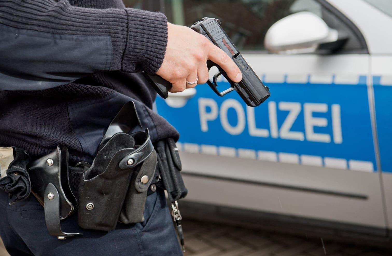 Polizei Pistole Waffe