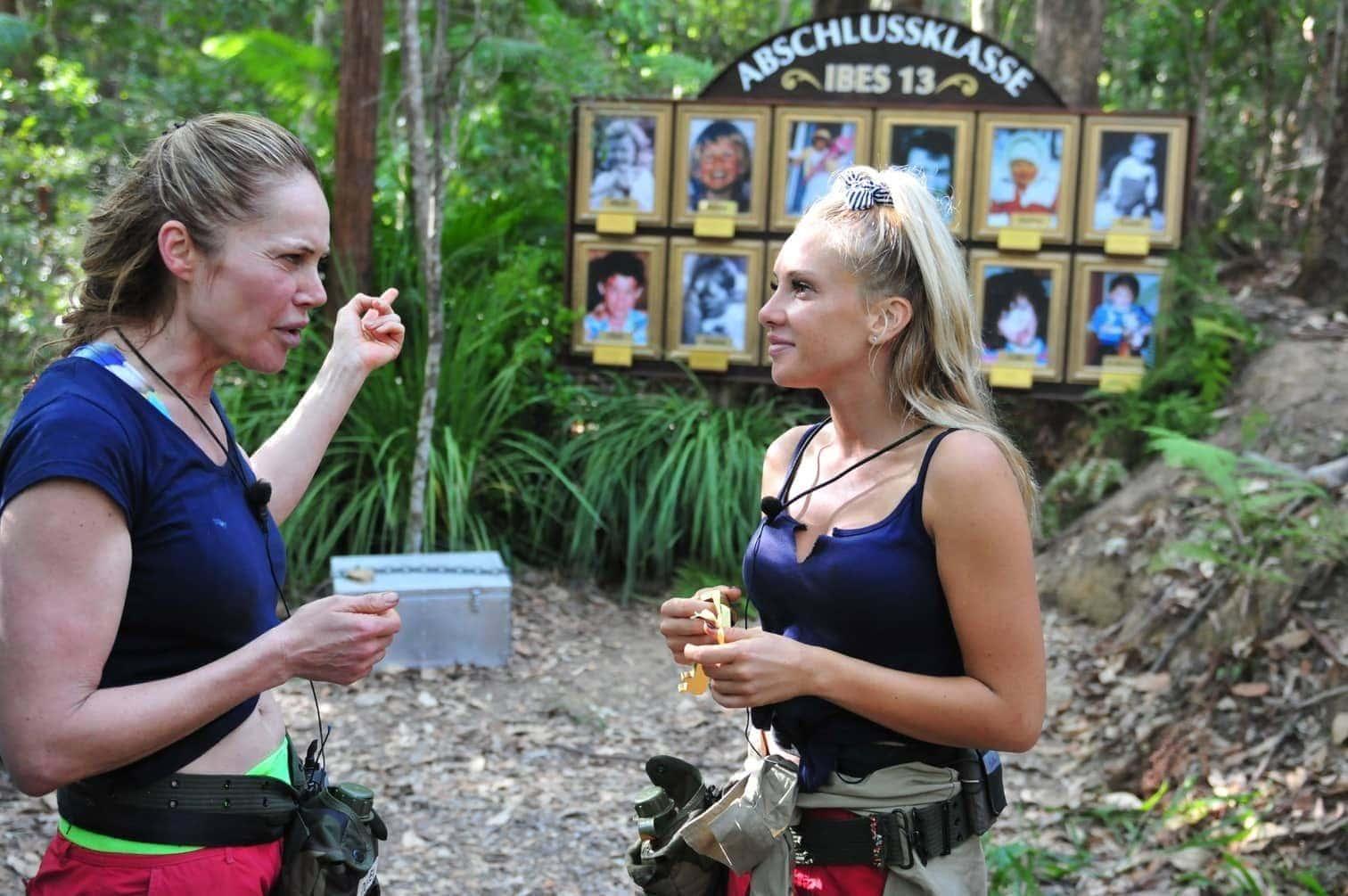 """wenn ihr die Dschungel-Galerie korrekt vervollständigt habt.""""</p> Foto: TV NOW / Stefan Menne"""