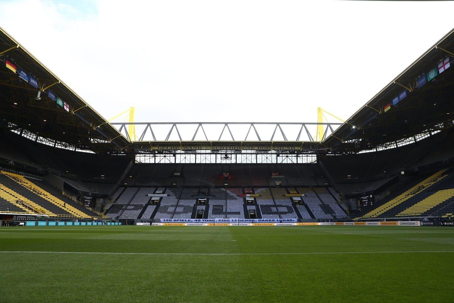 Frankfurt Stadion<br />Kapazität: 48.057 Zuschauer<br />5 Spiele</p> Foto: dpa/Arne Dedert
