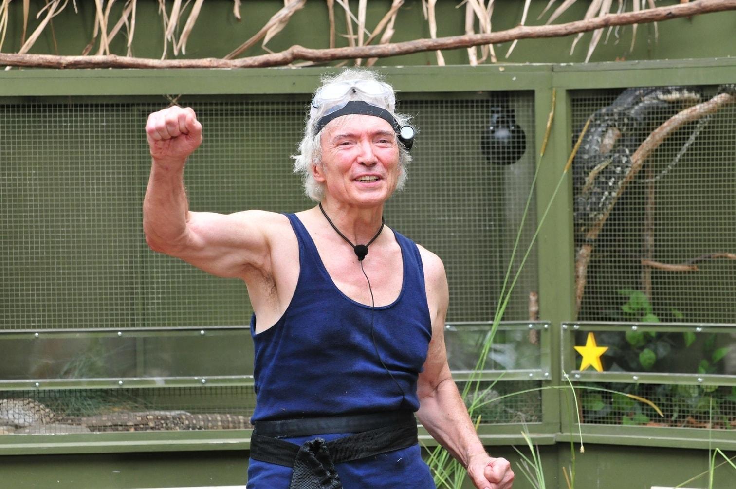 dreisten Schlangen und fauchendem Waran für Peter Orloff in der Final-Prüfung des Dschungelcamps!</p> Foto: TV Now / Stefan Menne