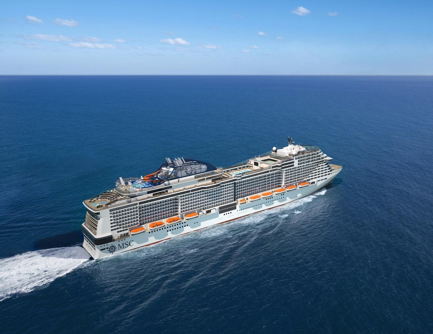 Kreuzfahrtschiff MSC Bellissima