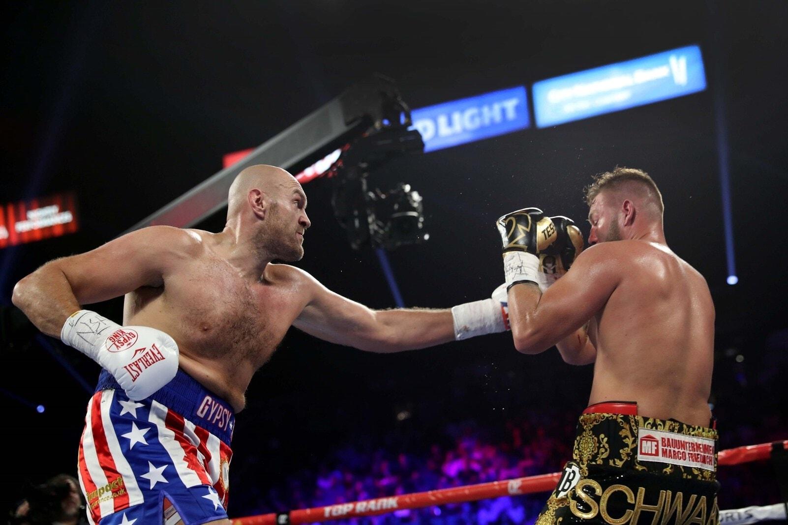 Allerdings hatte er seine bisherigen Siege fast ausschließlich gegen unterklassige Rivalen errungen und noch nie gegen einen Boxer der Klasse von Tyson Fury gekämpft. Foto: Steve Marcus/AFP