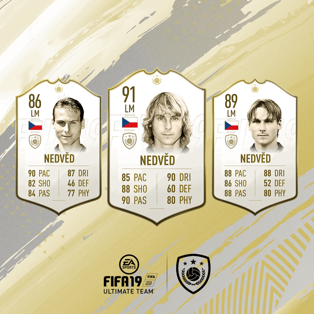 FIFA 19 Icon Pavel Nedved