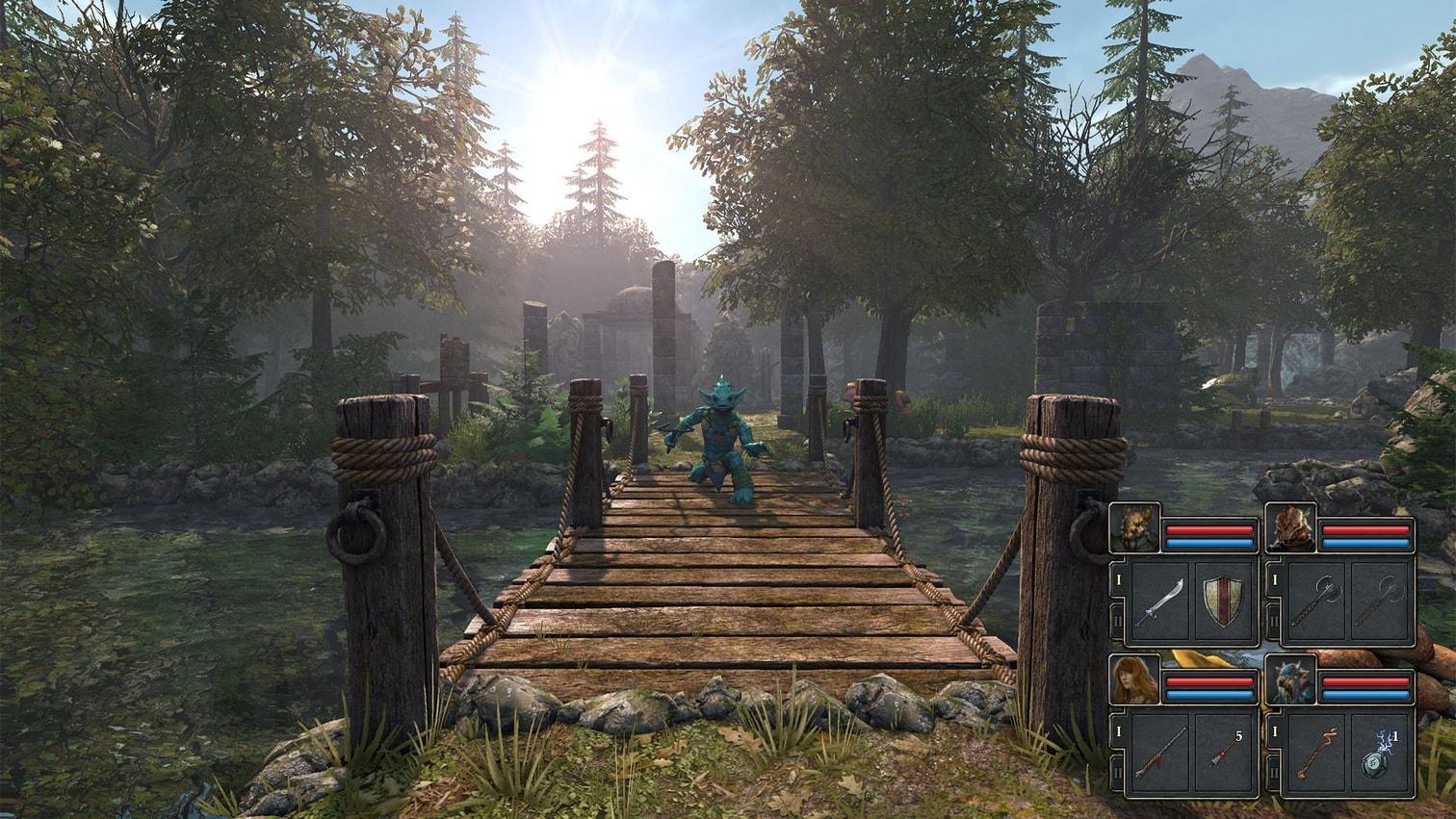 <p><span>Rogue-Rollenspiel mit rundenbasierten Kämpfen und fabulösem Grafik-Stil. Knüppelhart!</span></p> Foto: Screenshot