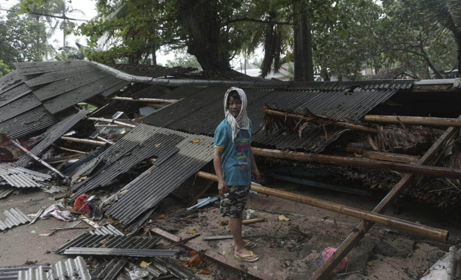 was ihnen in den Weg kommt - und wecken böse Erinnerungen an frühere Tsunamis in der Region. Diesmal scheint die Ursache aber eine andere zu sein.</p> Foto: dpa
