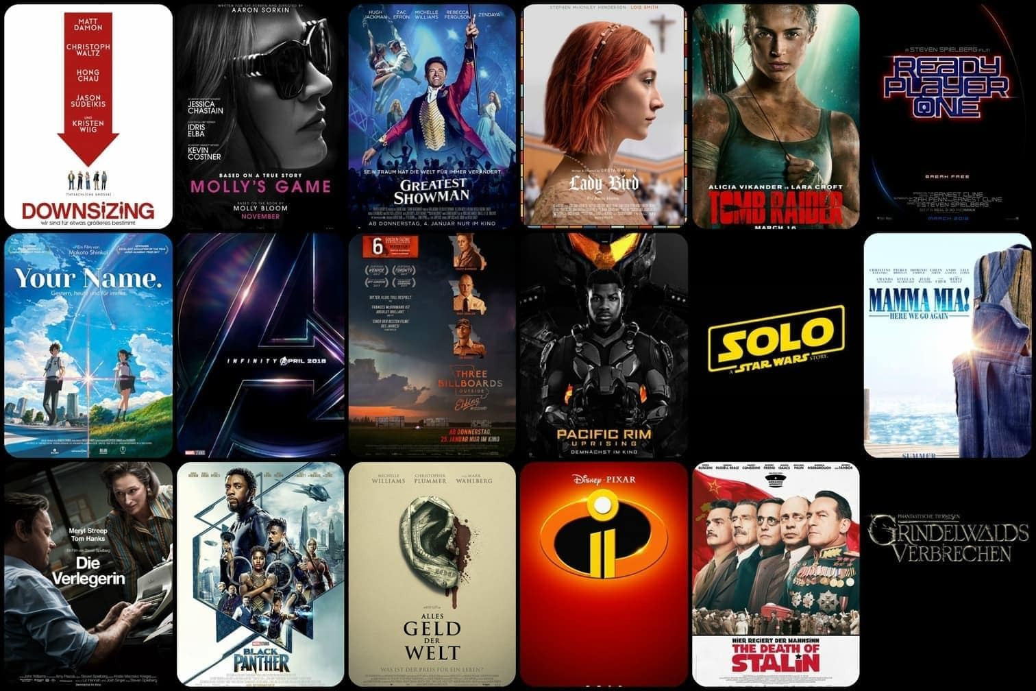 Alle Kinofilme