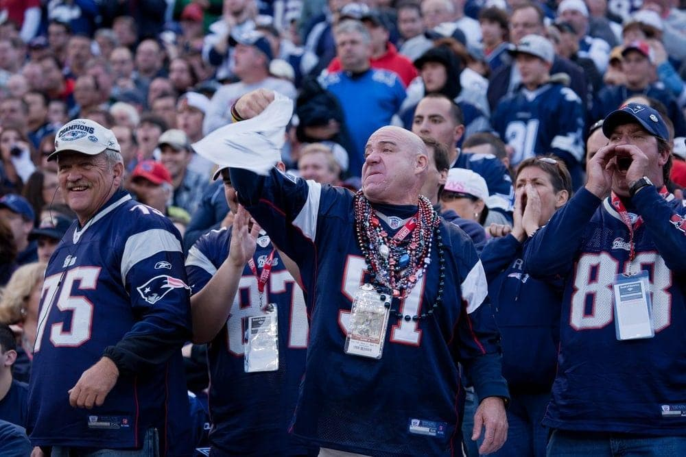 Fans New England Patriots