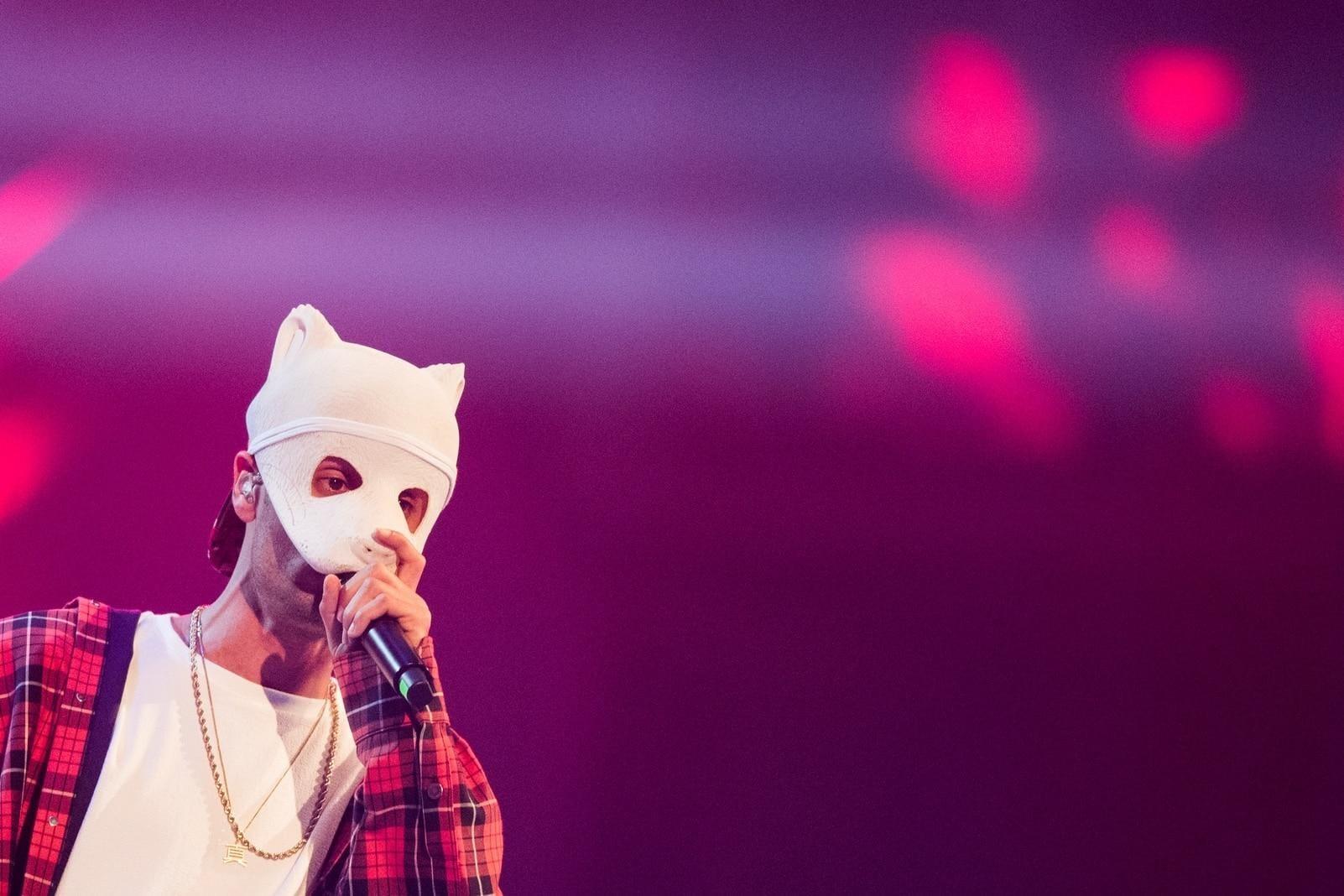 Cro Maske weiß