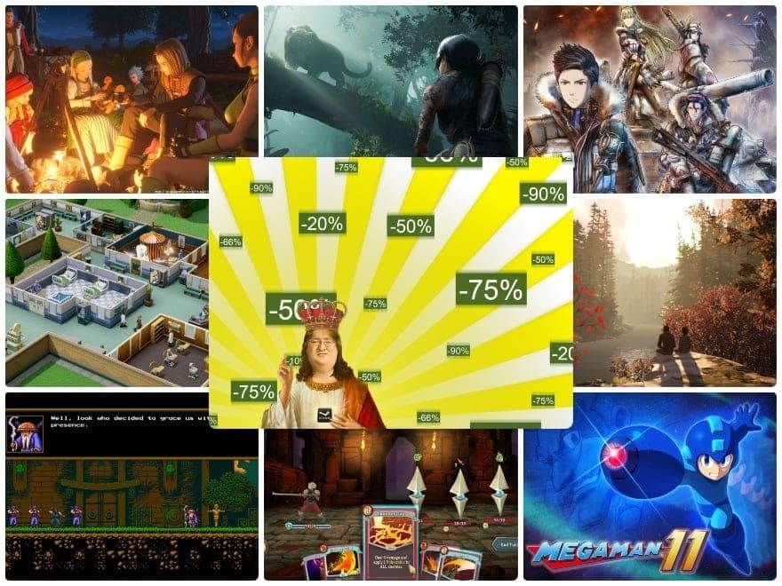 Steam Sales 2018