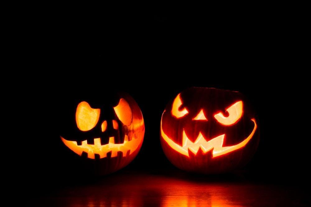 Halloween Kürbis Nacht
