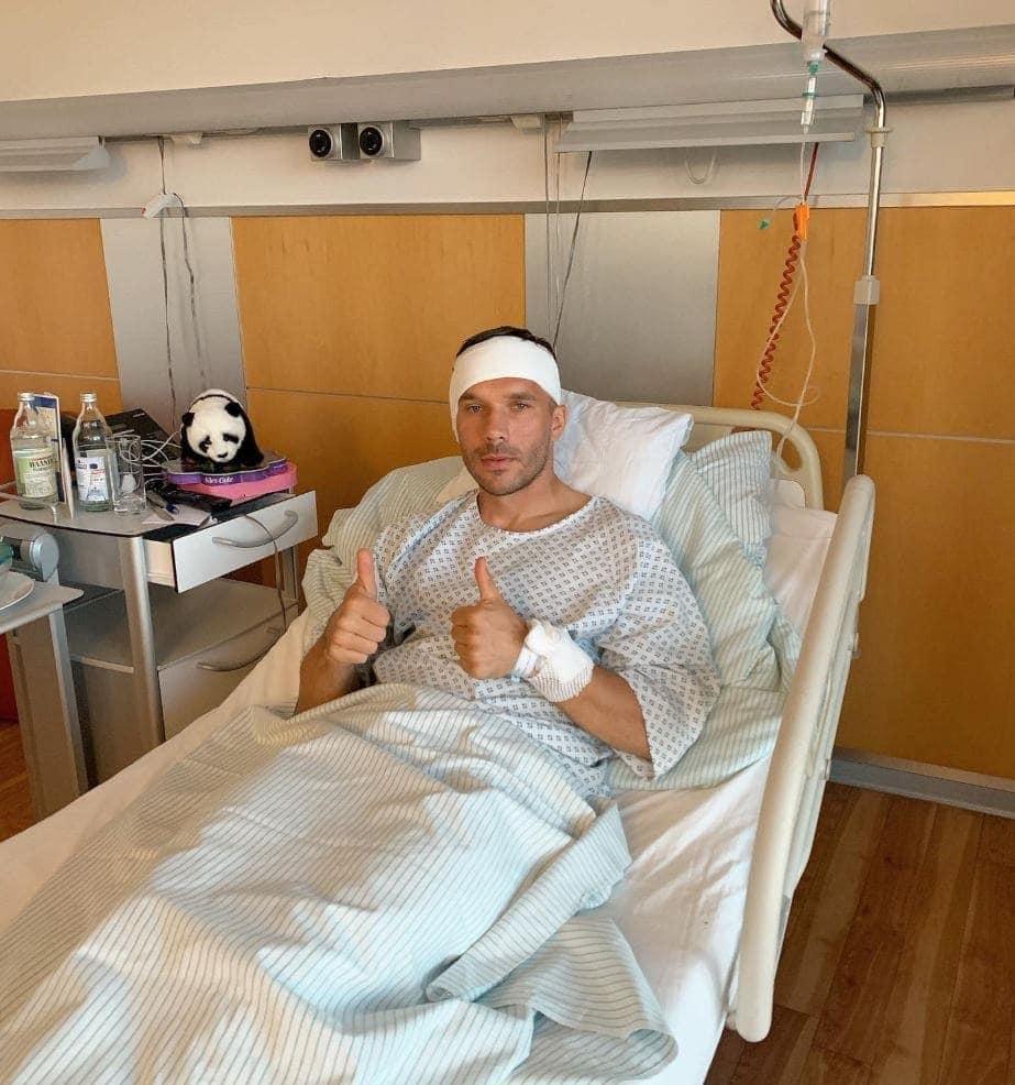 Trommelfell kaputt, Bohrung am Knochen: Lukas Podolski erklärt Hintergründe seiner schweren Ohren-OP