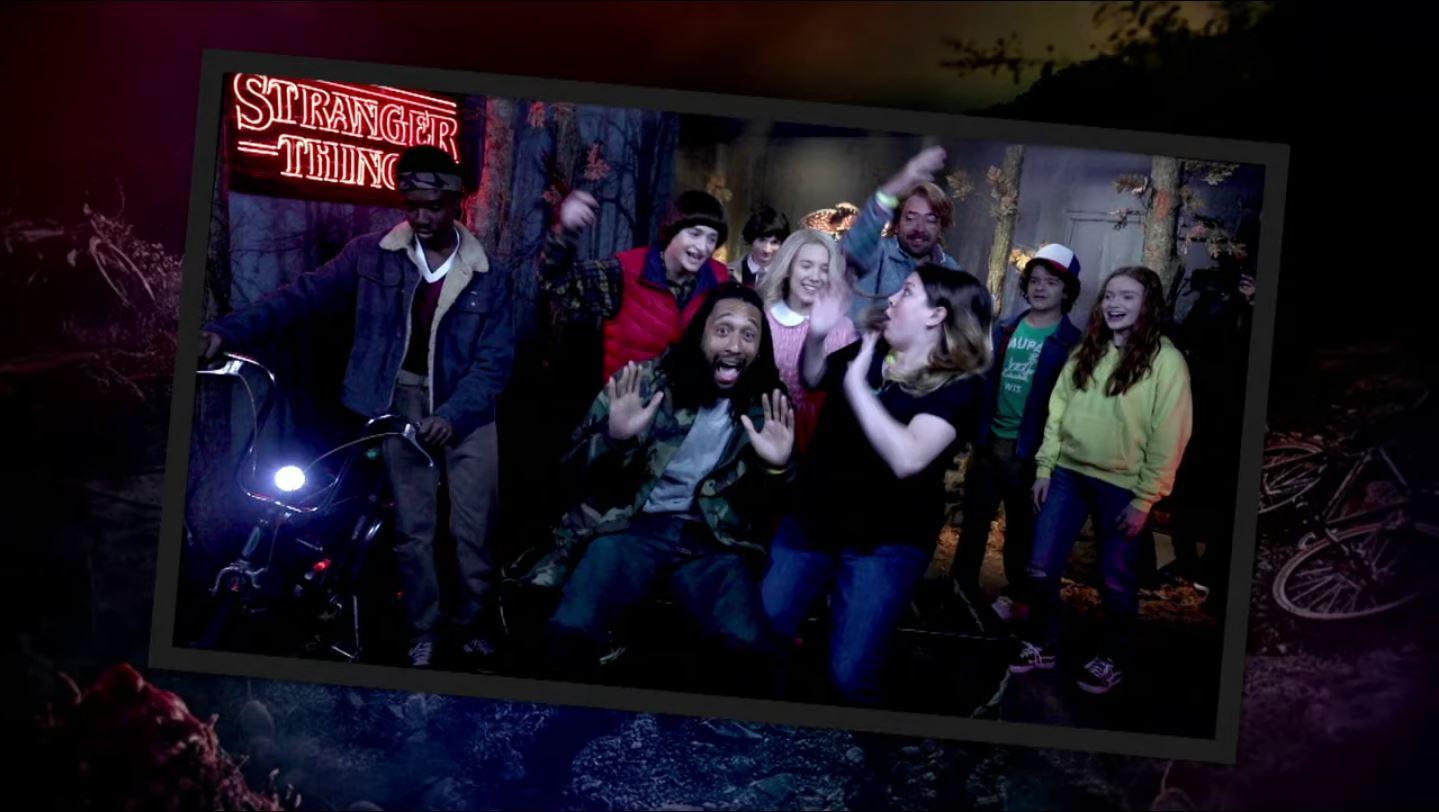 Jimmy Fallon Stranger Things Madame Tussauds