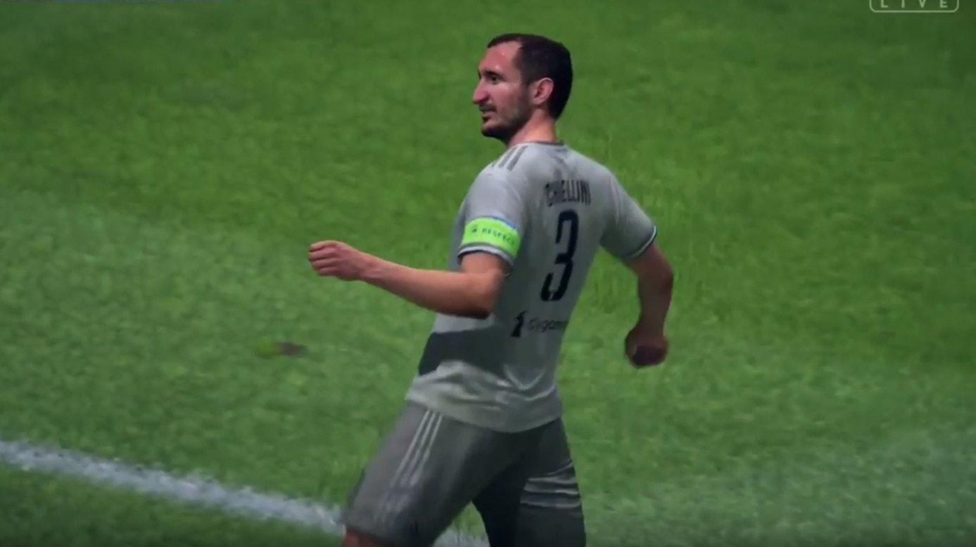Giorgio Chiellini FIFA 19