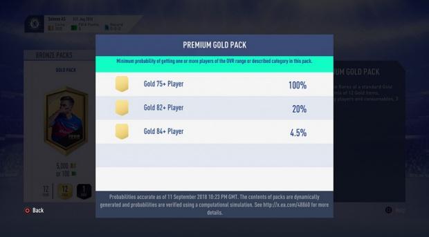 FIFA 19 Premium Goldpack