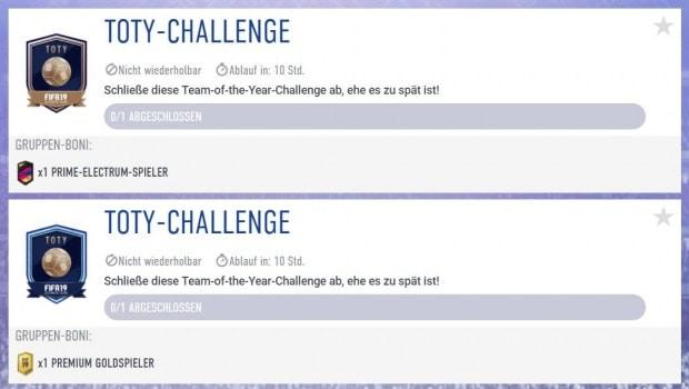 TOTY-Challenge FIFA 19