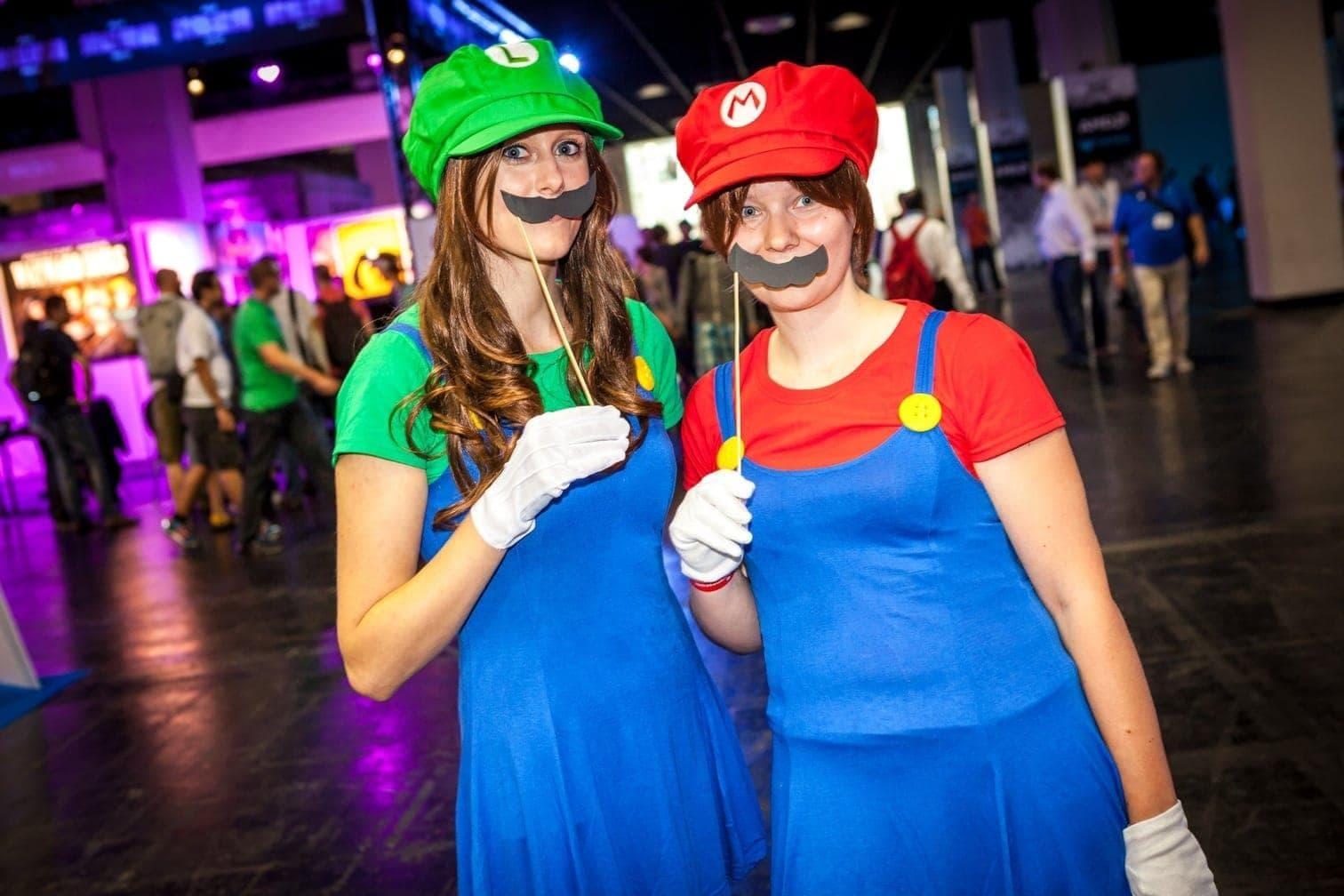 Gamescom Super Mario Luigi