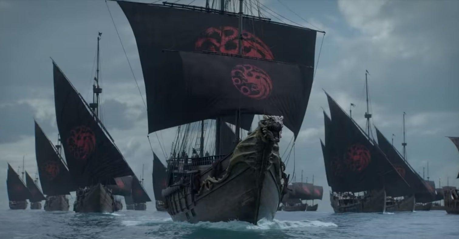 Game of Thrones Schiffe Targaryen