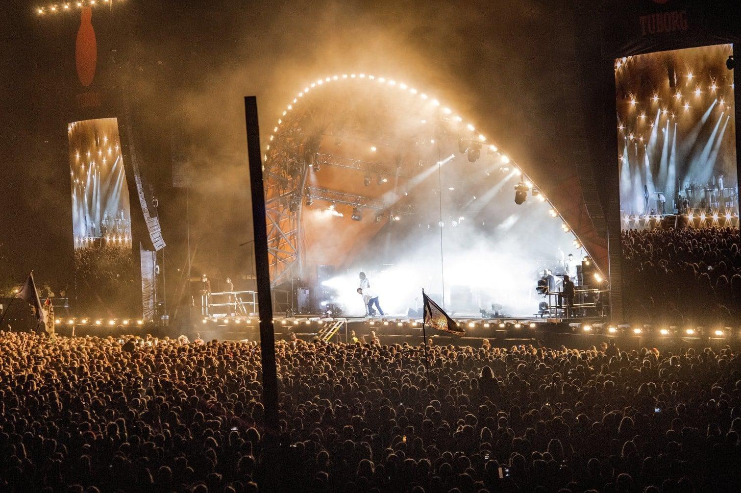 Gorillaz Konzert dpa 2018