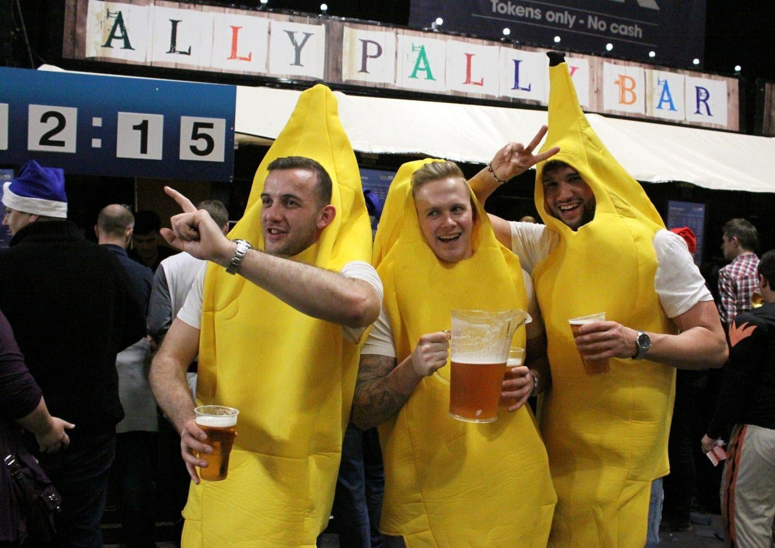 Darts Fans Ally Pally