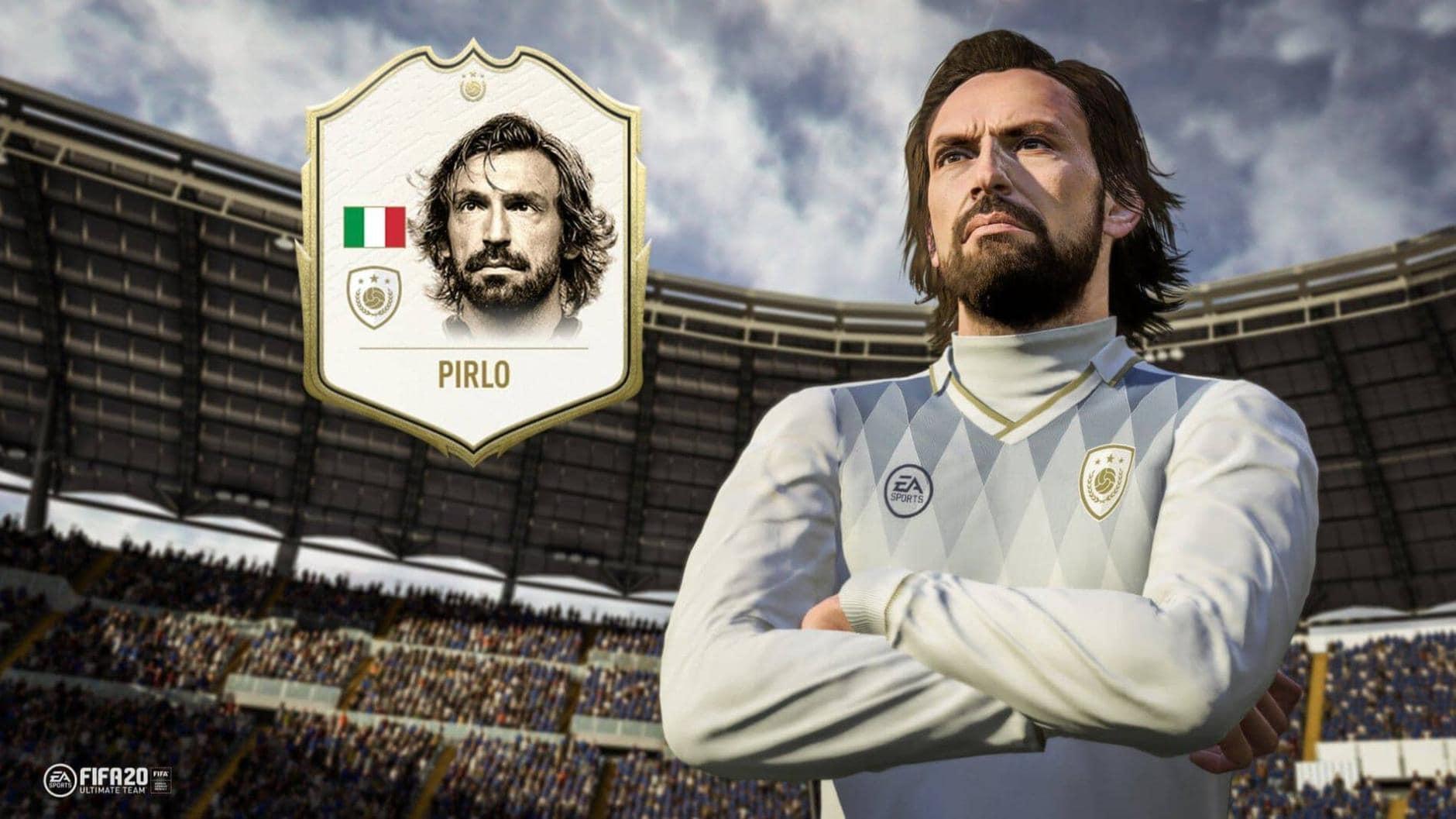 FIFA 20 Andrea Pirlo Icon