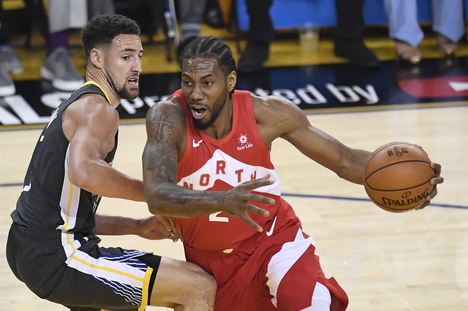 Golden State Warriors Klay Thompson - Toronto Raptors Kawhi Leonard