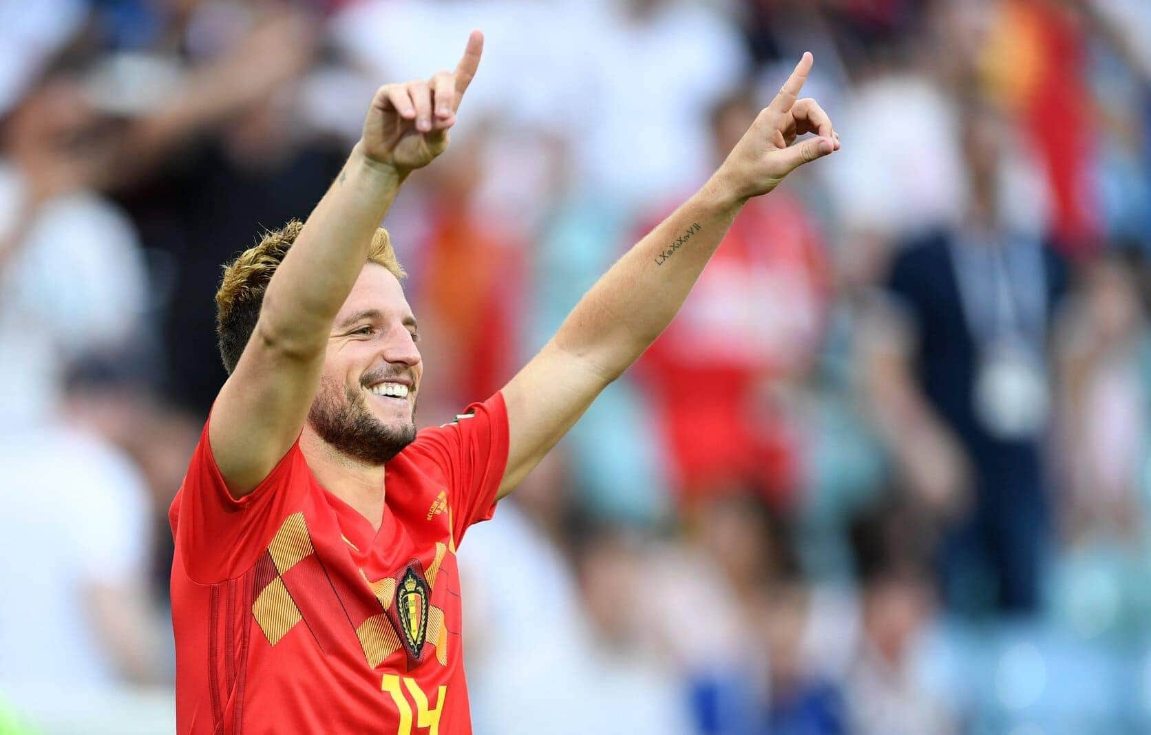 Dries Mertens belgischer Nationalspieler