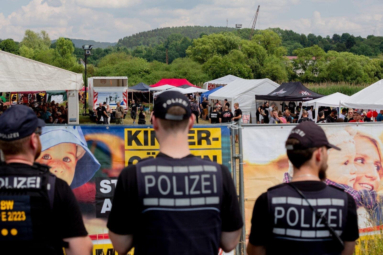 Rechtsrock-Festival Tage der nationalen Bewegung