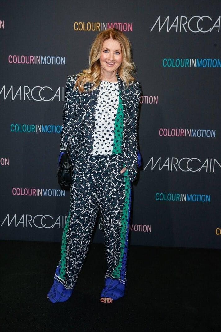 Frauke Ludowig auf der Berlin Fashion Week