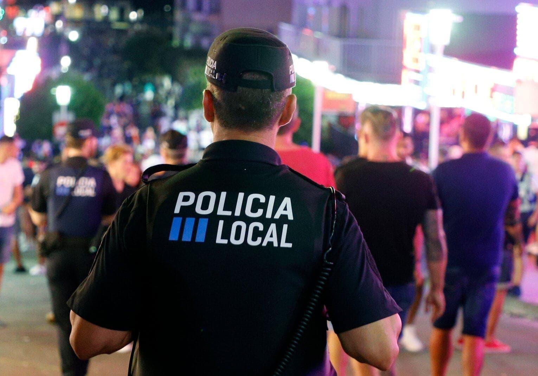 Polizei Mallorca Magaluf