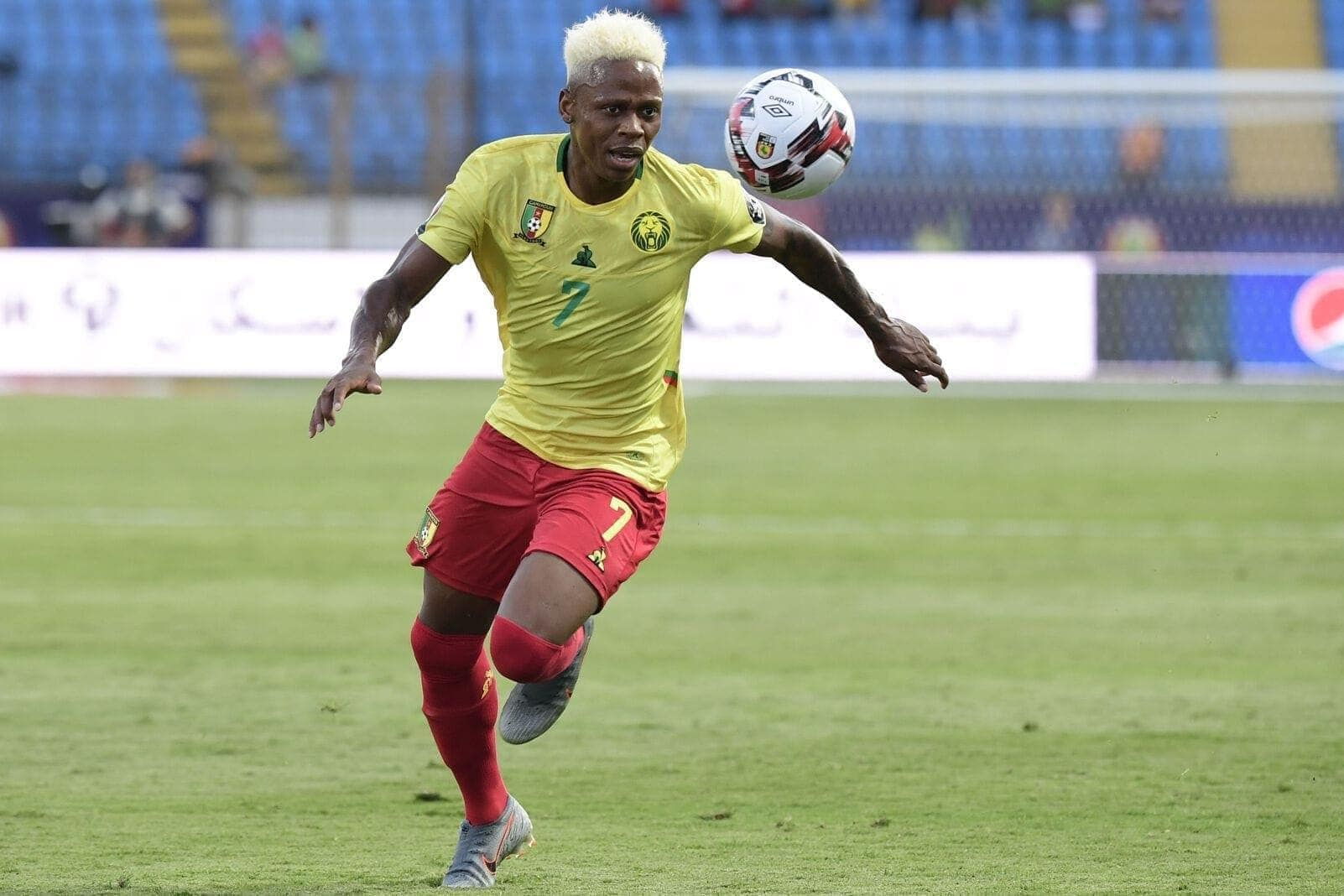 Clinton N'Jie Africa Cup of Nations 2019