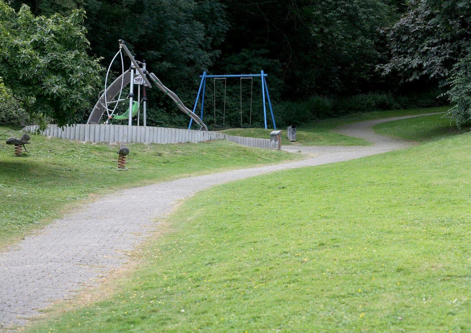 Mülheim Spielplatz Parkanlage