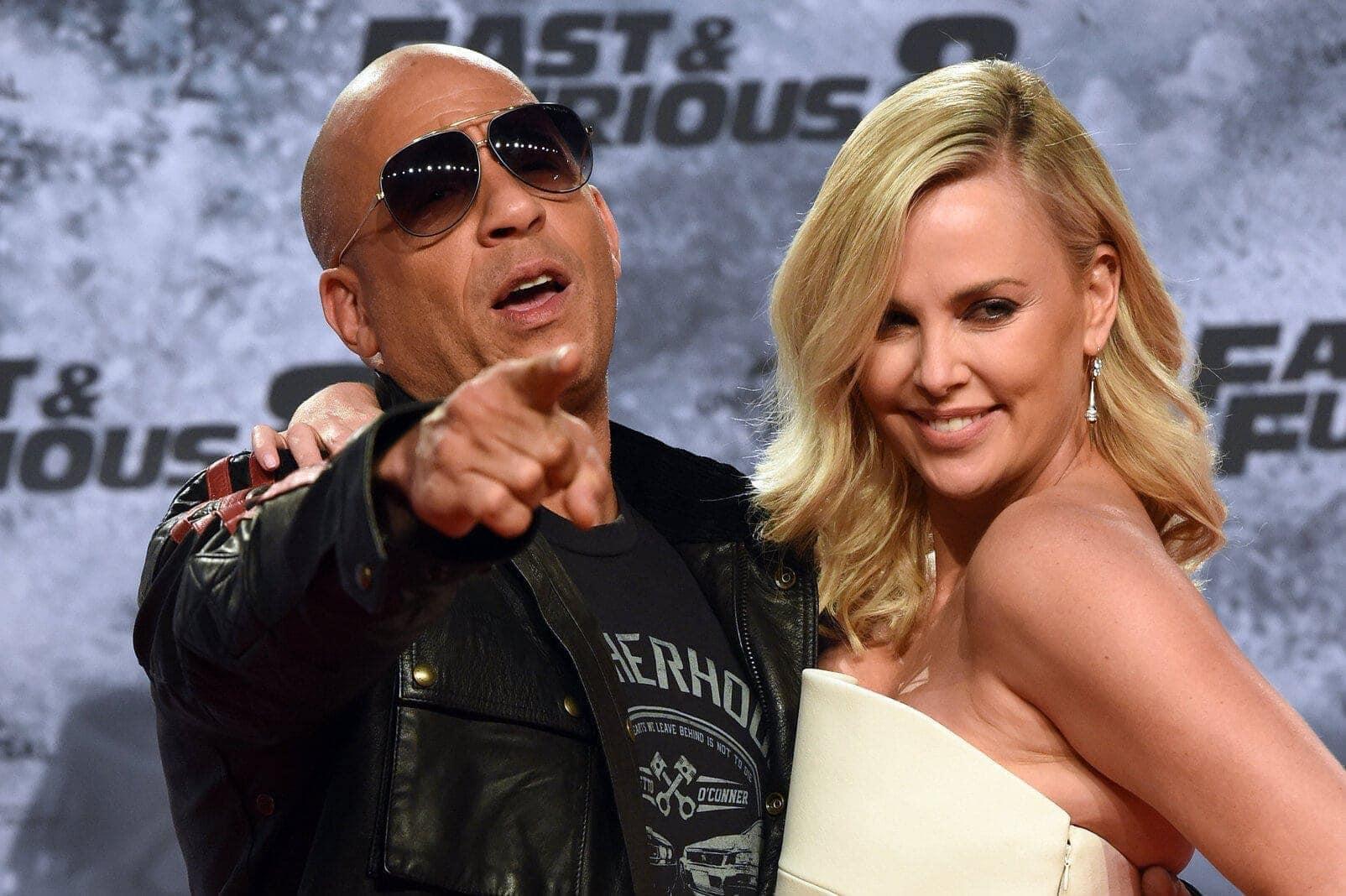 Vin Diesel mit Charlize Theron