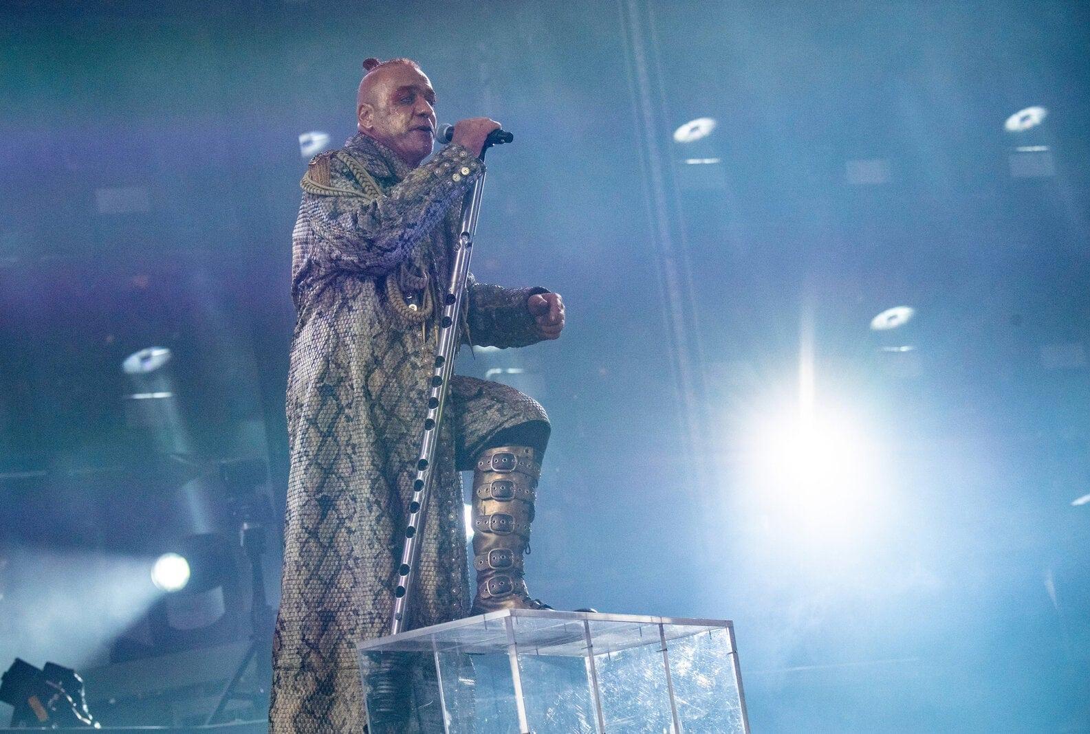 Rammstein Tour 2019 - Frankfurt am Main Till Lindemann