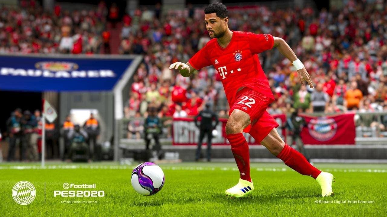 Pro Evolution Soccer PES 2020 Serge Gnabry