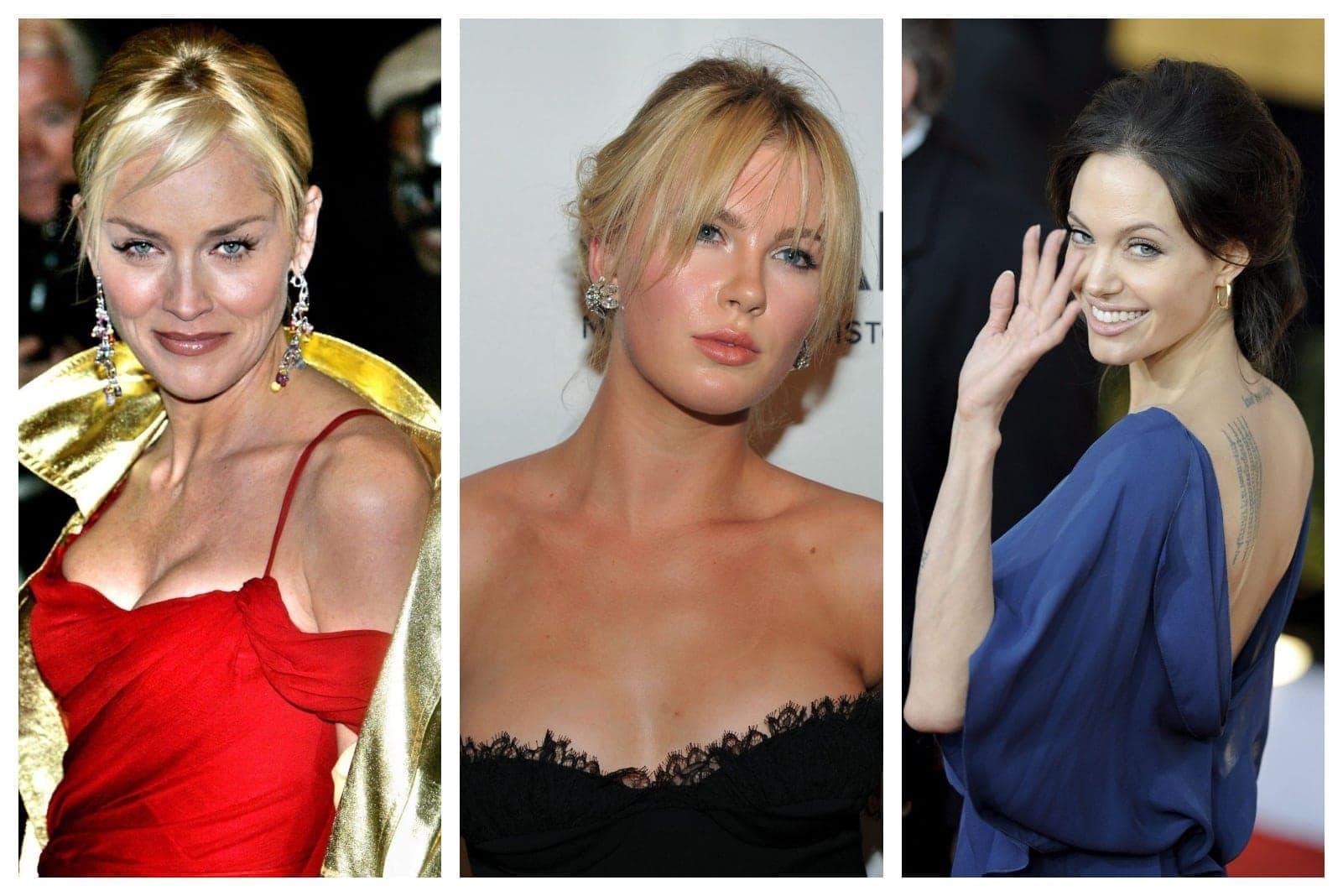 Sharon Stone Kim Basinger Angelina Jolie