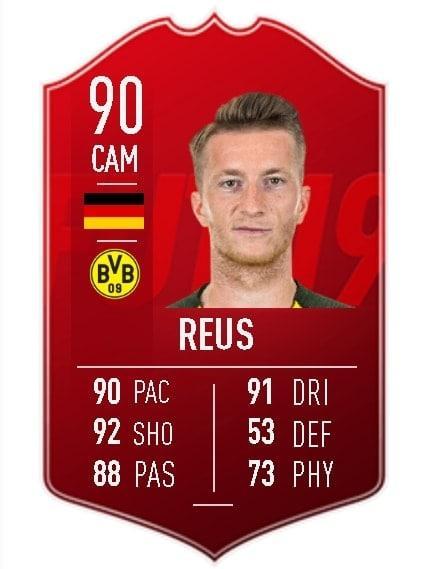 Marco Reus Spieler des Monats EA 2018 potm
