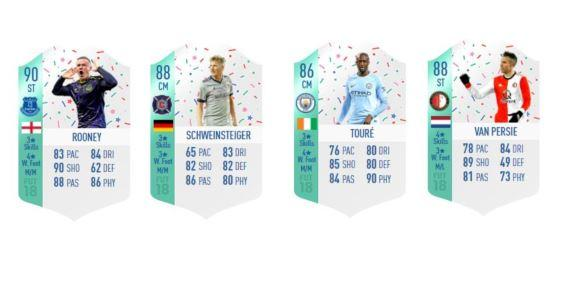 FUT Birthday FIFA 18 SBCs