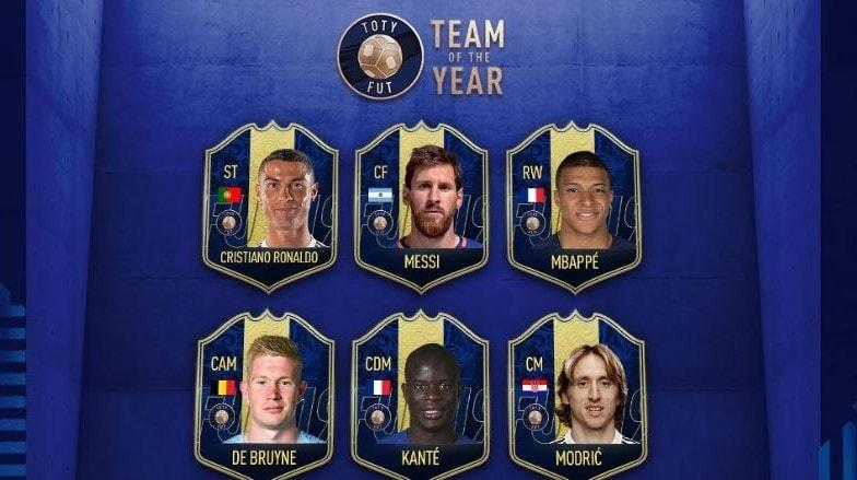 FIFA 19 Ultimate Team of the Year