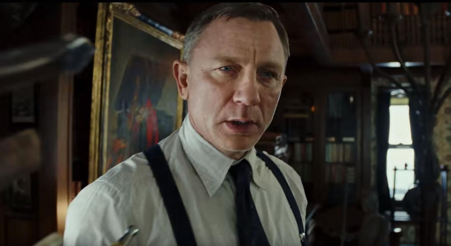 Daniel Craig Knives Out Trailer