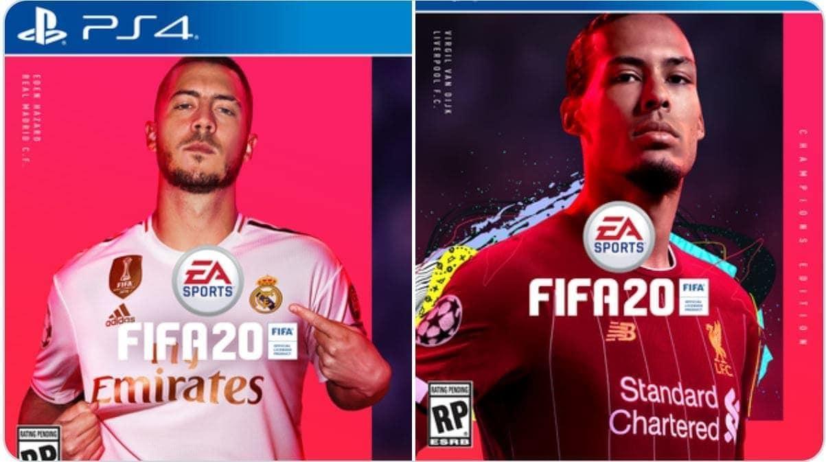 Fifa 20 Cover EA Sports