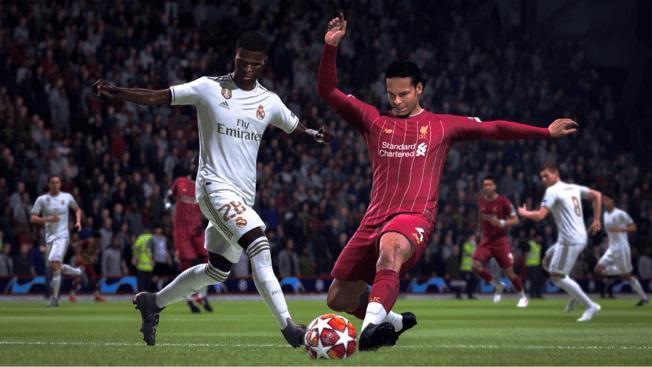 FIFA 20 Vinicius Junior Virgil van Dijk