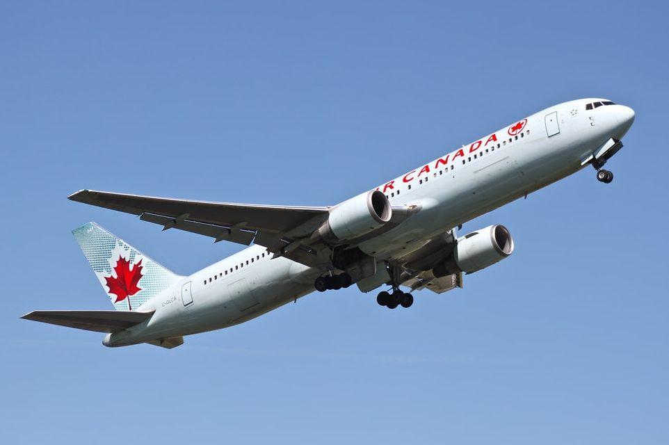 Air Canada Flugzeug